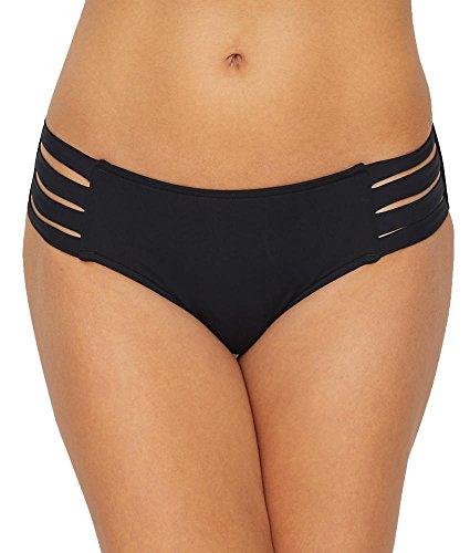 Seafolly Damen Active Multi Strap Hipster Bikinihose, Schwarz (Black), 38 (Herstellergröße:12)