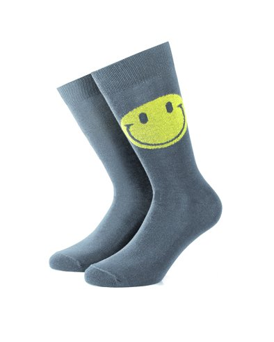 Smart Living Outdoor Brf15s052 Calze Skater Unisex Two Smiles Colore Grigio Taglia S-M