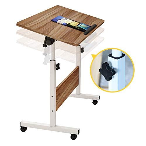unknow OverBed-Tisch , Tabletttische, einstellbare Höhe für die Werkbank Overbed Office Desk Laptop-Tisch Sofa Tisch Stehpulte für das Krankenhausheim