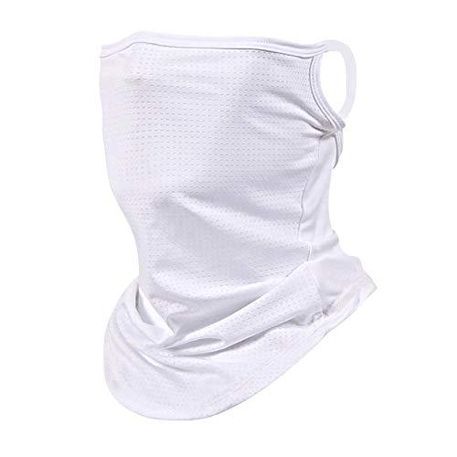 Gesichtsschal Bandanas Eisseide UV-Schutz Hals Gamasche Schal Sturmhaube für Staub im Freien Sport