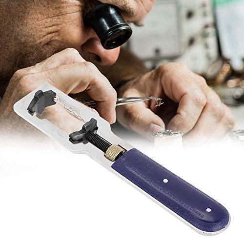 Herramienta de reparación de relojes, herramienta de reparación de relojes, kit de reemplazo de batería de reloj universal de tres mordazas para abridor de caja trasera, herramienta de reparación de