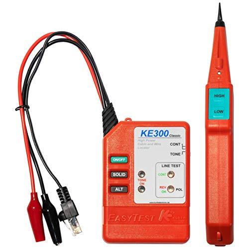 Kurth KE301 Classic-Leitungssucher Kit/besteht. aus Easytest300 / Probe310 und Schutztasche