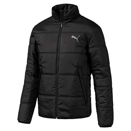 PUMA Herren Essentials Padded Jacket Winterjacke, Black, L