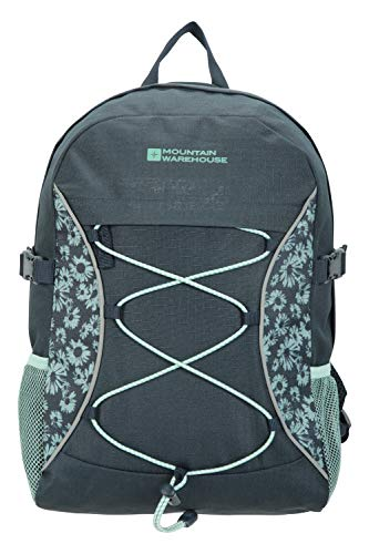 Mountain Warehouse Bolt 18L Backpack - Ripstop Rucksack, Compression Straps Bag - For Travelling Indigo