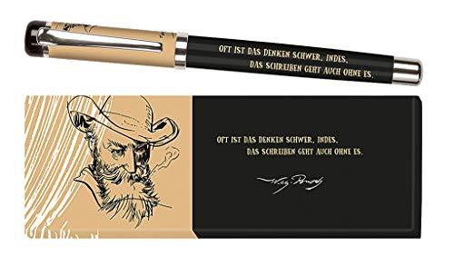 Moses. libri_x Tintenroller Wilhelm Busch   Tintenschreiber mit austauschbarer Blauer Mine   in einer Geschenkschachtel