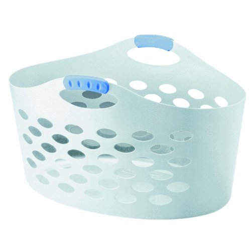 Product Image of the Rubbermaid Flex 'N Carry Laundry Basket-White Home