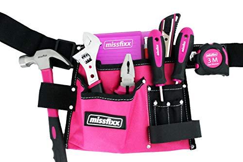 Werkzeuggürtel'Basic' inkl. Werkzeug pink