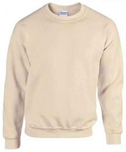 Gildan Heavy Blend Sweatshirt : Color - Sand : Size - XL