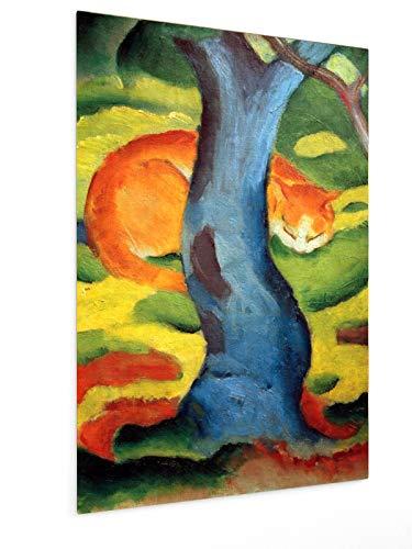 weewado Franz Marc - Gato Debajo de un árbol 20x30 cm Poste
