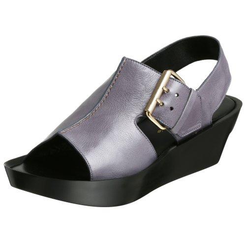 Robert Clergerie Women's Monde Sandal,Lilac Gloss,9.5 B