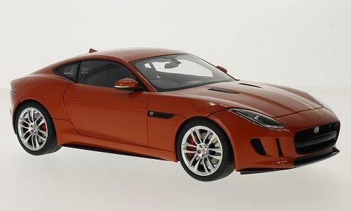 günstig Jaguar F-Typ R Coupé Dunkelorange Metallic RHD 2015 Automodell Abgeschlossenes Modell Autoart 1:18 Vergleich im Deutschland