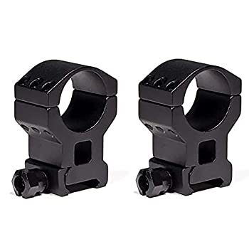 Vortex Optics Tactical 30mm Riflescope Ring — Lower 1/3 Co-Witness [1.57 Inches | 40.0 mm] - 2 Pack