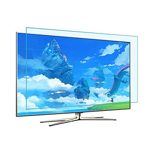 KELUNIS Anti Reflejante Protectores De Pantalla De TV Película Anti Luz Azul para Smart TV 4K Android PC Linux, Aliviar La Fatiga Ocular Y Dormir Mejor,32'(698 * 392)