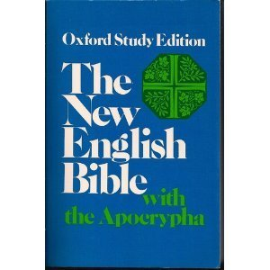 Paperback The New English Bible: With the Apocrypha (Oxford Study Edition) Book