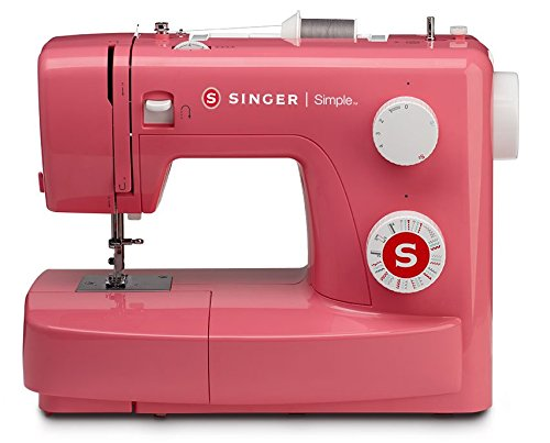 SYS Rating: 9.5 SINGER | Simple 3223R Handy Sewing Machine Including 23 Built-in Stitches, Easy Threading, Snap-on Presser Foot, Built-in Bobbin Winding
