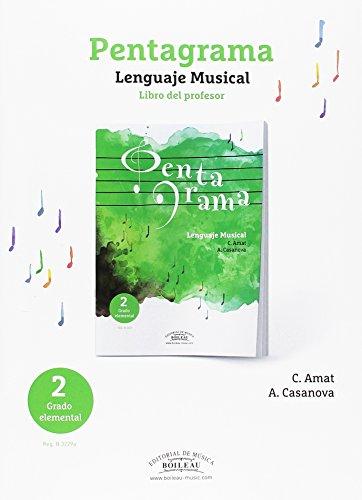 Acompañamientos Pentagrama Lenguaje Musical Elemental 2 (libro en castellano) - Nueva edición (B.3229a)