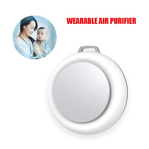 Read About GT-LYD Wearable Air Purifier,3 Million Negative Ions cm³ Chargeable Low Noise Mini Porta...
