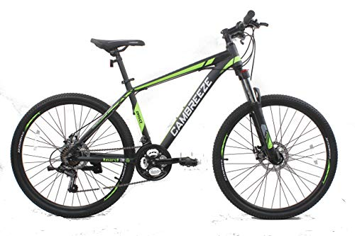 Mars Cycles Y660 Mountain Bike/Bicycles Black 26'' wheel Lightweight Aluminium Frame 21 Speeds SHIMANO Disc Brake