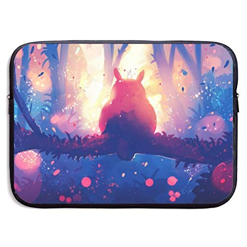 Anime My Toto-ro Laptop Sleeve Bag Case,Waterproof and Foldable Laptop Briefcase Neoprene Soft Carring Tablet Travel Case,13 inch