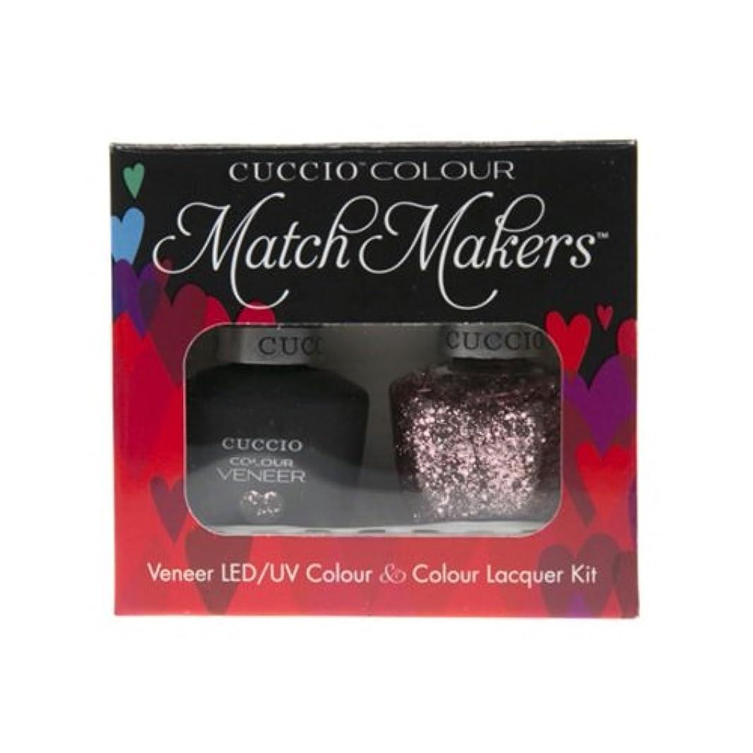 無秩序緩むがっかりしたCuccio MatchMakers Veneer & Lacquer - Love Potion NO. 9 - 0.43oz / 13ml Each