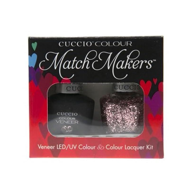 フリルハイキング安全性Cuccio MatchMakers Veneer & Lacquer - Love Potion NO. 9 - 0.43oz / 13ml Each