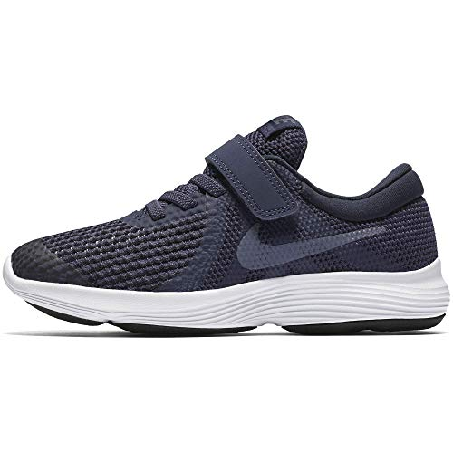NIKE Kinder Revolution 4 (PSV) Laufschuhe, Blau (Neutral Indigo/Light Carbon-Obsidian 501), 33 EU