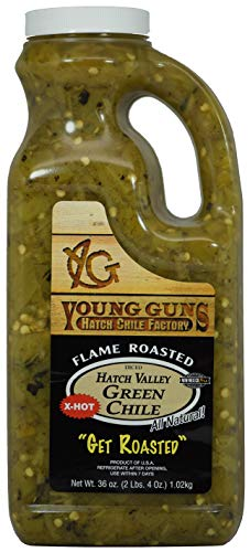 Young Guns Hatch Valley Green Chile (Extra Hot)