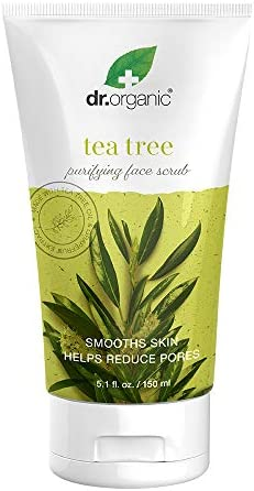 Dr Organic Purifying Gentle Face Scrub with Organic Tea Tree Oil 5 1 fl oz product image