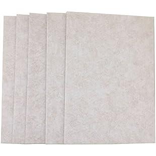 Merlinae Premium Furniture Felt Pads 21cm x 30cm x 5 mm Thick Heavy Duty Felt Sheets DIY Furniture Accessories Rectangle & Chair,Table Leg Felt Pads To Protect Hardwood Floors Pack of 5 (Creamy white):Peliculas-gratis