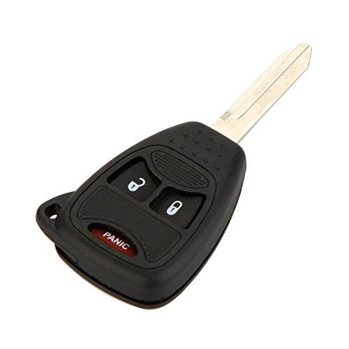 KATUR Bo&icirc Tier de Remplacement pour cleacute de Voiture Auto matique Agrave 3 Bouton Compatible with Chrysler Dodge