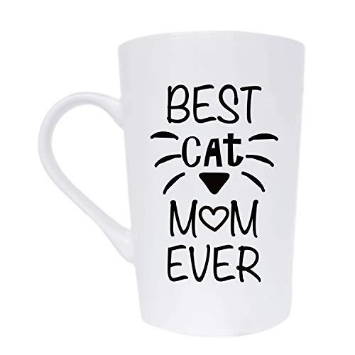 Kaffeetasse mit lustiger Katze und Aufschrift