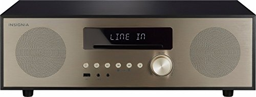 Insignia 80W All-In-One Stereo Shelf Audio System with Bluetooth Connectivity - Model: NS-HAIOR18