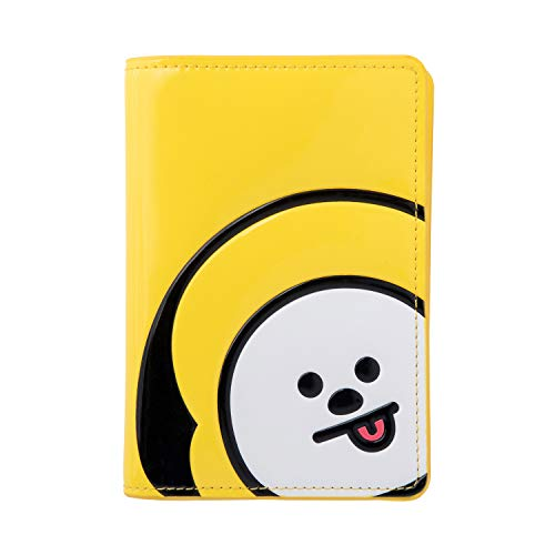 BT21 Official Merchandise by Line Friends - CHIMMY Character Enamel Passport Holder Cover