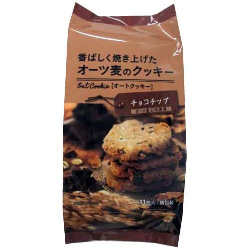 オーツ麦のクッキーチョコチップ 11枚×12個