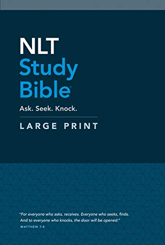 Compare Textbook Prices for NLT Study Bible Large Print Red Letter, Hardcover Large type / Large print Edition ISBN 9781496445438 by Tyndale