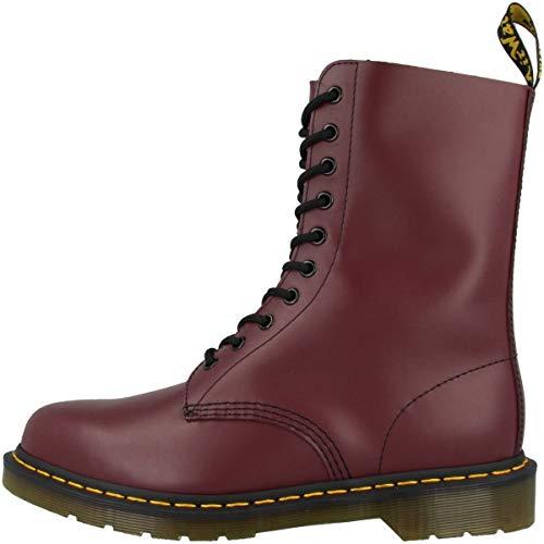 Dr. Martens Original 1490 11857600, Unisex - Erwachsene Stiefel, kirschrot, 41 EU / 7 UK