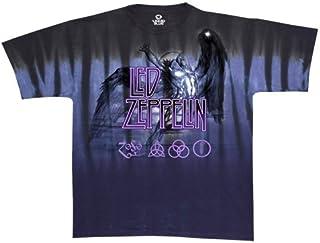 Liquid Blue Unisex-Adult Mens 11853-Tie Dye-XX-Large Hotter Than Hell T-Shirt Short Sleeve T-Shirt