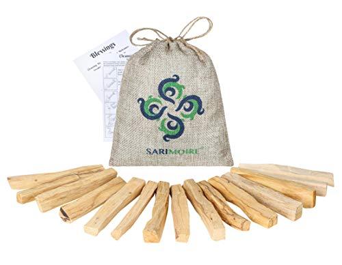 Palo Santo Sticks – 15 palitos sagrados de Perú ~ Palo perfecto para mediación yoga o oración