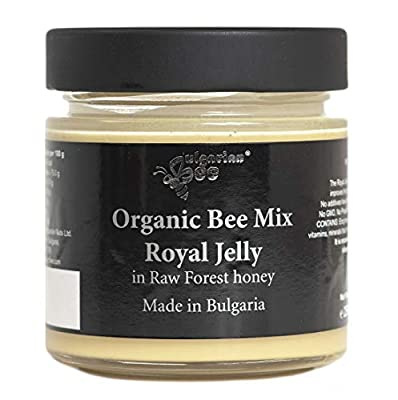 500 g Honey with Royal Jelly, Raw, Unheated, No additives