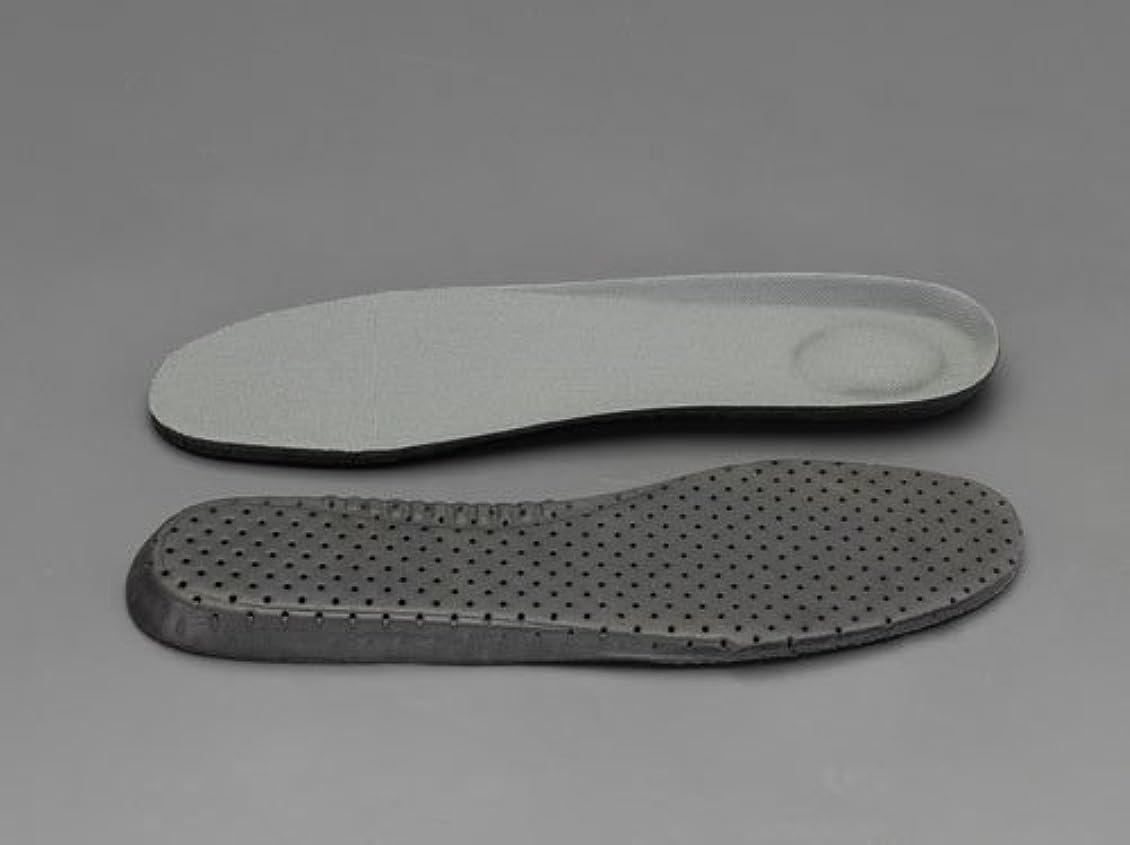 交換可能シャベルクレーンエスコ 27.0cm踏み抜き防止板入りインソール EA910ZB-27