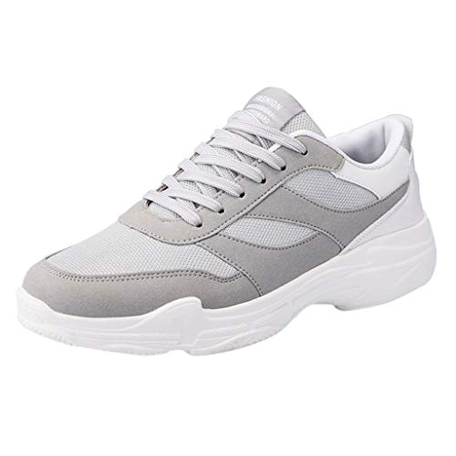 ZARLLE Zapatillas Running Hombre Nuevos Zapatos para Hombre Flying Weaving Running Zapatos Turísticos Ocio Calzado Deportivo para Correr Trail Fitness Sneakers Ligero Transpirable