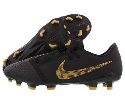 Nike Men's Phantom Venom Pro FG Black/Metallic Vivid Gold 8 D US