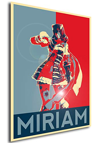 Instabuy Poster - Propaganda - Bloodstained Ritual - Miriam A A3 42x30