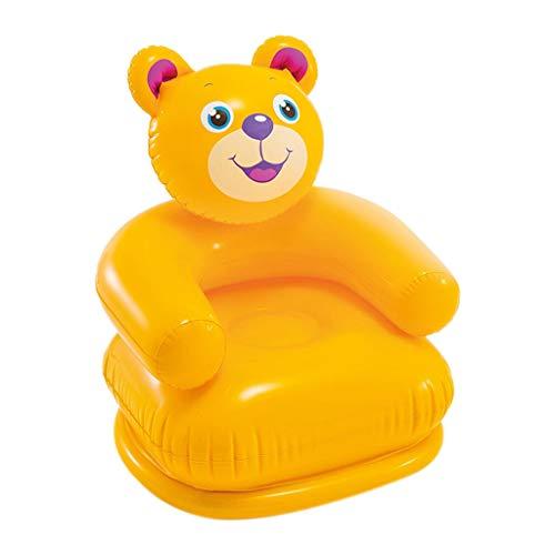 Fine Portable Inflatable Sofa,Cartoon Household Animal Inflatable Sofa Seat Portable Children...