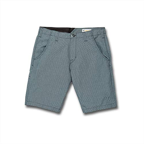 Volcom The Down Lo Shor 20 Short pour Homme M Bleu (Hydro Blue)
