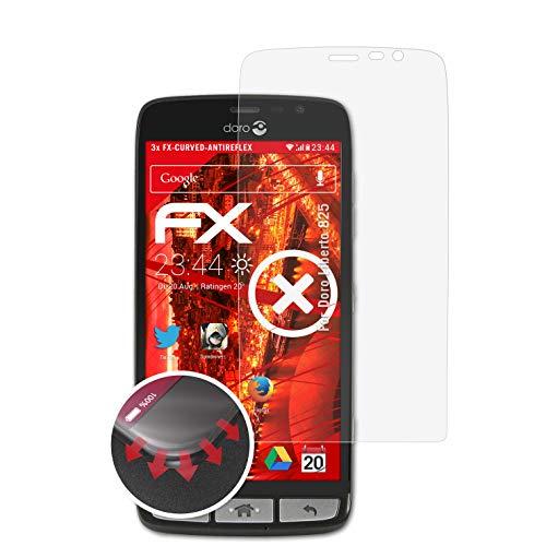 atFolix Schutzfolie kompatibel mit Doro Liberto 825 Folie, entspiegelnde & Flexible FX Bildschirmschutzfolie (3X)