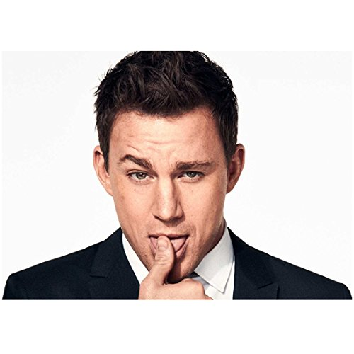 Channing Tatum 8 x 10 Photo The Dilemma Magic Mike She's the Man Channing Tatum in Suit Licking Thumb kn