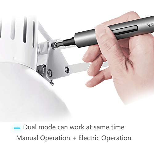 Wowstick 1F+ 64 In 1 Electric Screwdriver, Dual Mode Cordless Lithium-ion Charge LED Power Screwdriver (64 in 1)