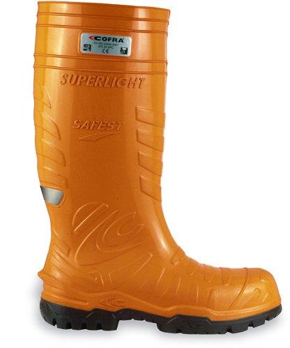 COFRA 00060-002.W45 Gummistiefel, orange, 45