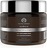 The Man Company Daily Moisturising Cream With Shea Butter And Vitamin E   Hydrates & Rejuvenates   All Skin Type   50 gm
